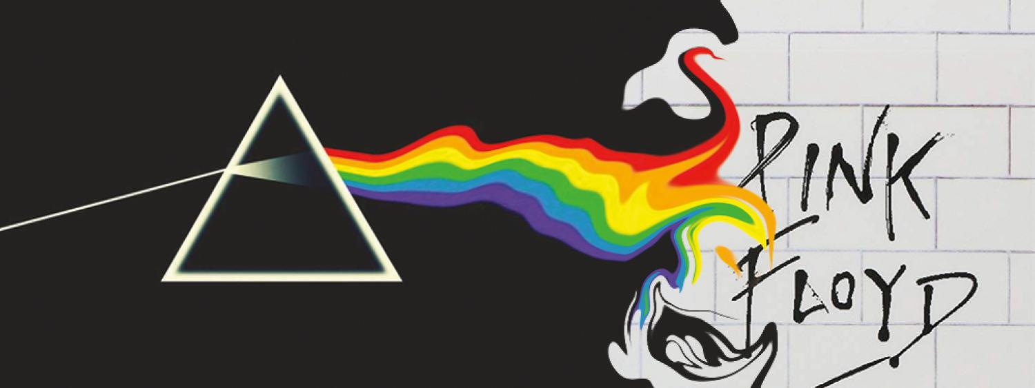 Pink Floyd the Wall and Dark Side of the Moon