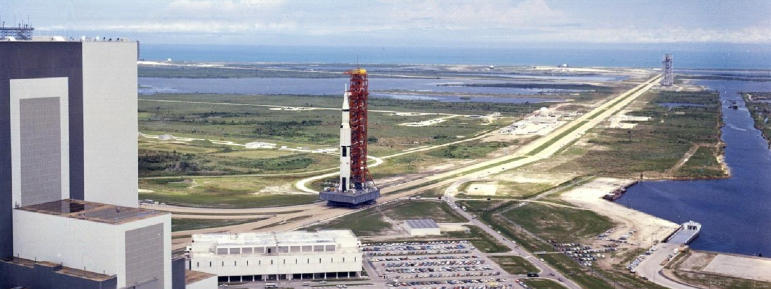 Photo of Saturn V Apollo 11
