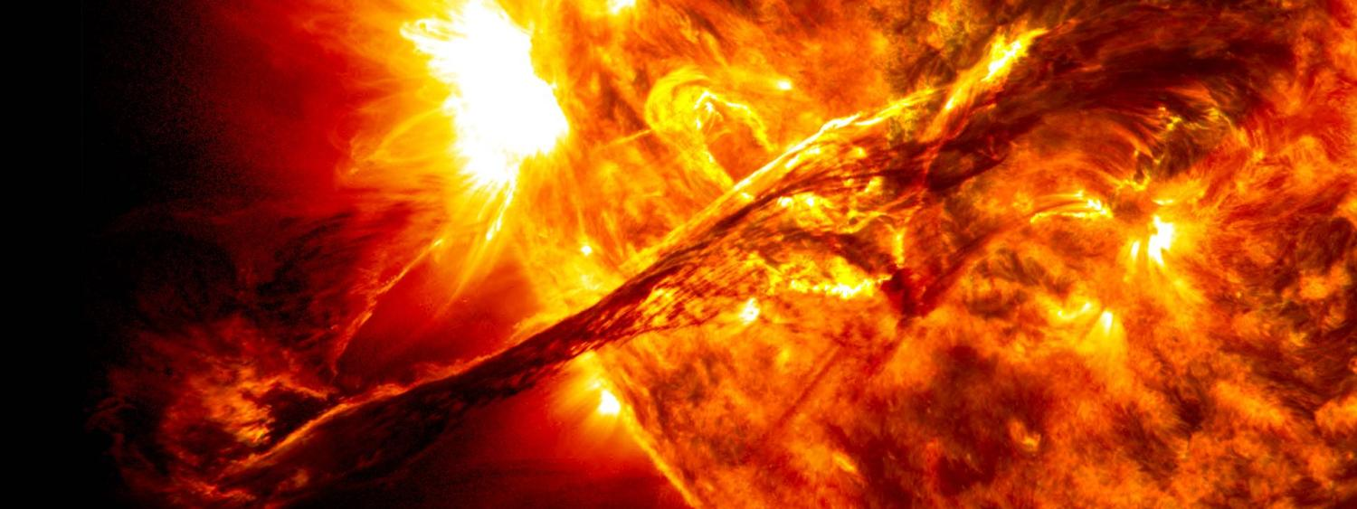 Solar Superstorms graphic