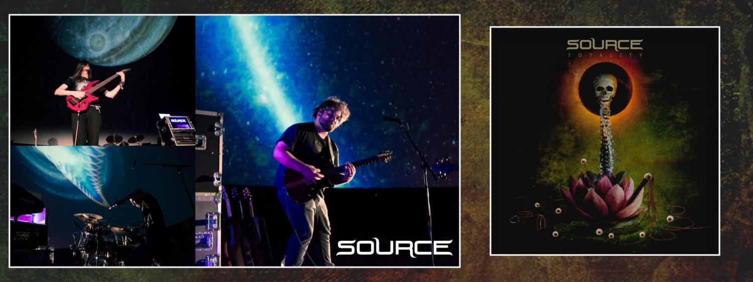 Source concert photos and album cover