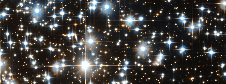 Star Field Hubble NGC6397