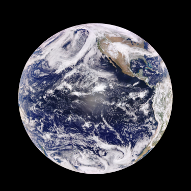 View of Earth from DSCOVR EPIC camera