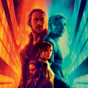 Blade Runner 2049 poster with main characters from the film