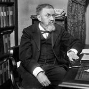 Photo of Henri Poincaré black and white