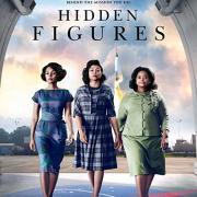 Movie poster for Hidden Figures