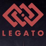 Legato web graphic with logo