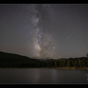 Milky Way from Echo Lake photo by tyler.gaston_photography