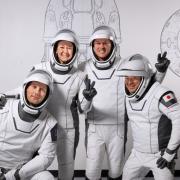 NASA SpaceX-Crew-2 four Astronauts