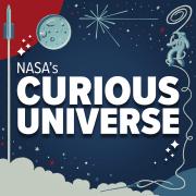 NASA Curious Universe Podcast logo