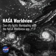 Screen capture from the NASA Worldview app