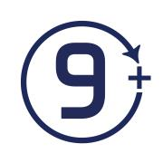 Age recommendation 9 icon
