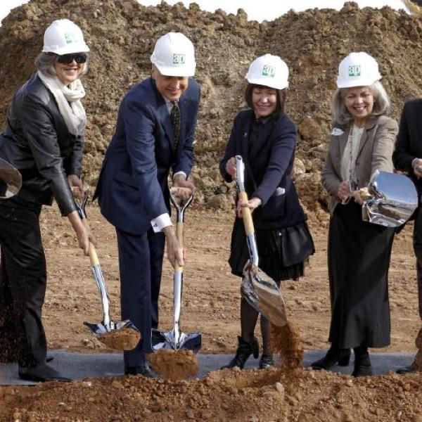 February 4th ground breaking ceremony