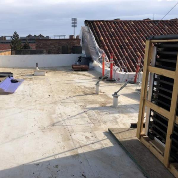 Ramaley roof construction