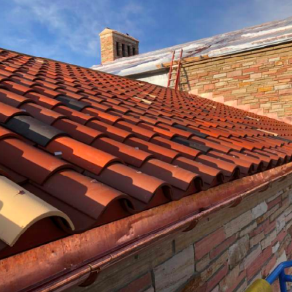 exterior clay roof tiles