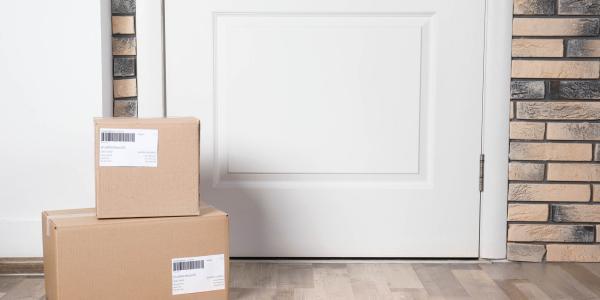 UPS campus delivery