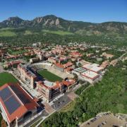 CU aerial view