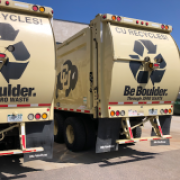 recycling trucks