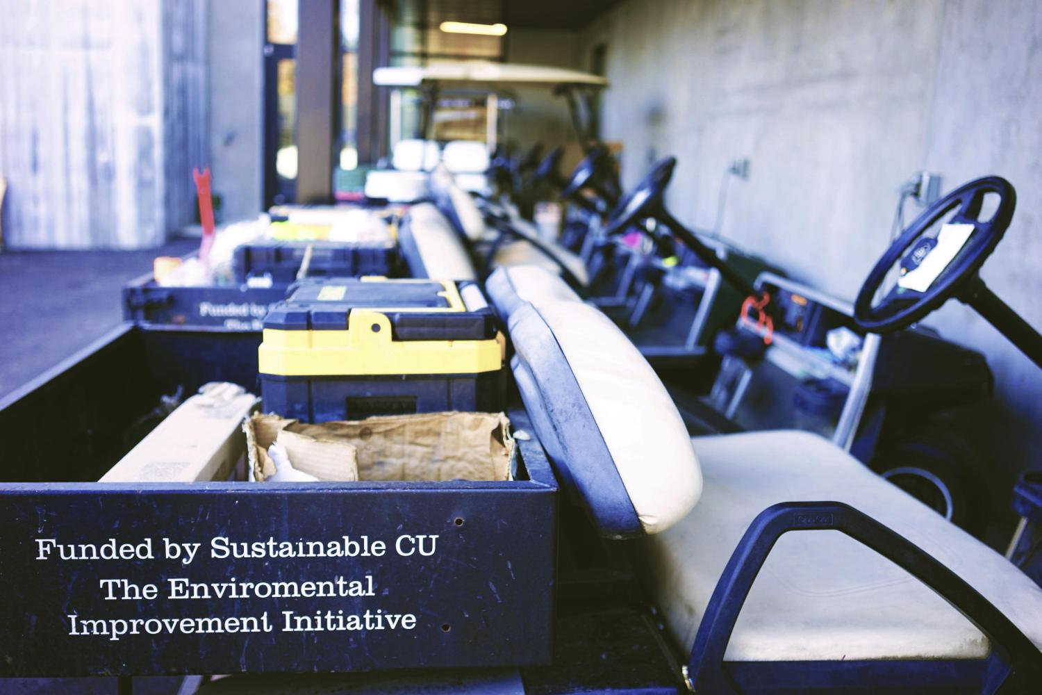 CU-FM carts for grounds