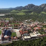 Aerial CU campus