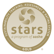 AASHE STARS Gold Award