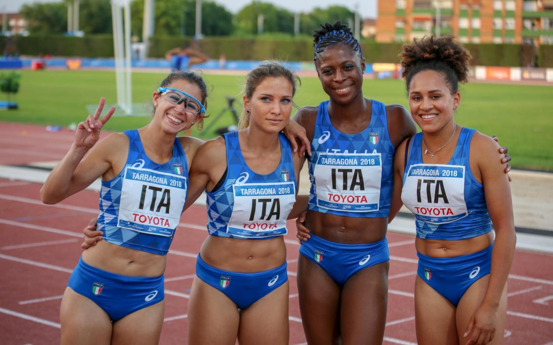 2018 Italian track team