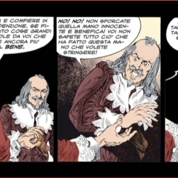 I promessi sposi graphic novel panels