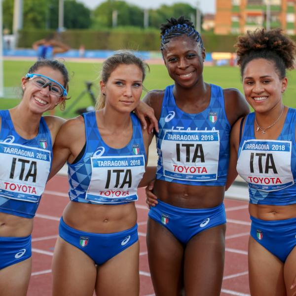 2018 Italian track team members