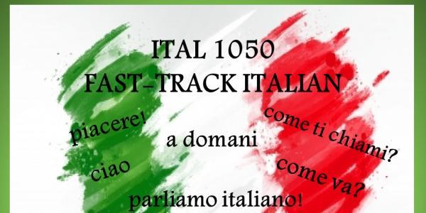 Italian 1050 poster with Italian words