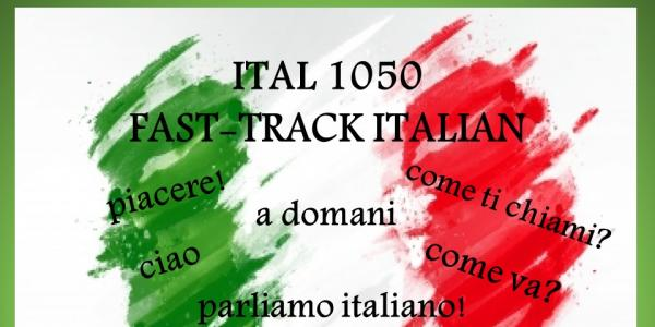 Italian 1050 poster with Italian words