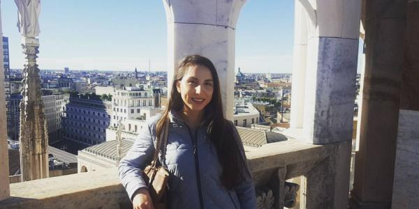 Picture of Marlene Aramburo in Italy