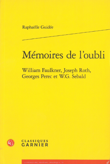 Raphaëlle Guidée yellow book cover