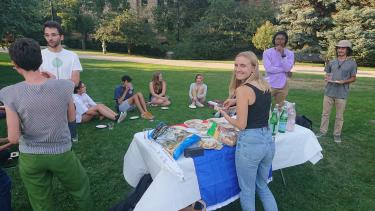 French Club Welcome Party - Fall 2021