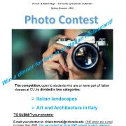Italian Photo Contest Poster