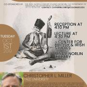 Christopher Miller Poster of Lecture