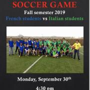 France Vs. Italy Soccer Game