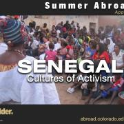 poster of Senegal study aborad