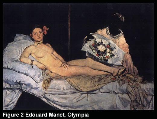 Figure 2 Edouard Manet, Olympia