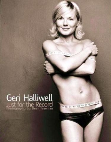 Geri Haliwell - Just for the Record Cover