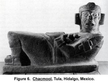 Chacmool, Tula, Hidalgo, Mexico.