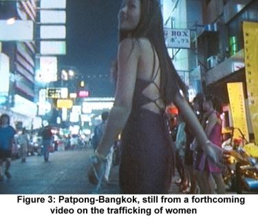 Patpong-Bangkok, still from a forthcoming video on the trafficking of women
