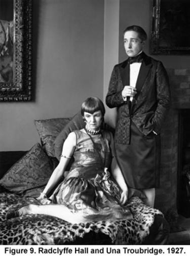Radclyffe Hall and Una Troubridge. 1927.