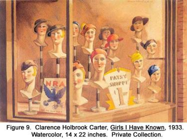 Clarence Holbrook Carter, Girls I Have Known