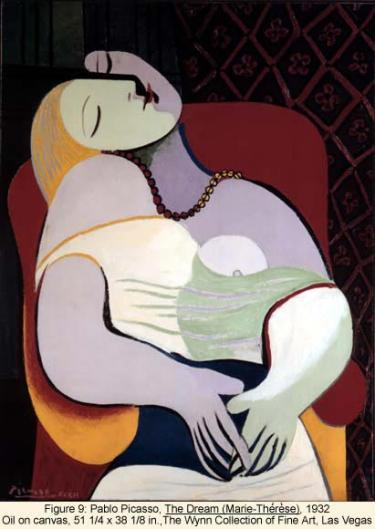 Pablo Picasso, The Dream (Marie Therese)