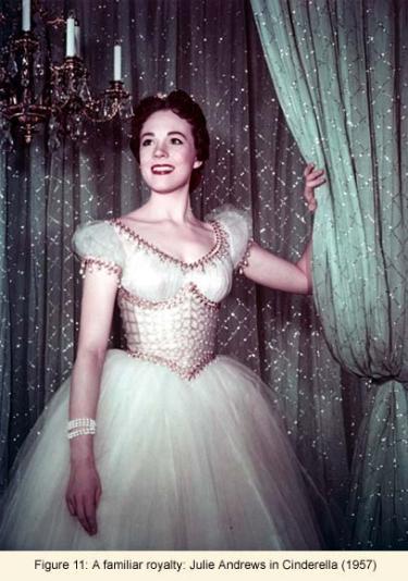 Julie Andrews in Cinderella (1957)