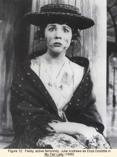 Julie Andrews as Eliza Doolittle in My Fair Lady (1956)