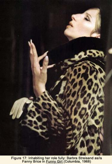 Barbara Streisand as/is Fanny Brice in Funny Girl (Columbia, 1968)
