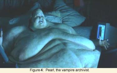 Pearl, the vampire archivist