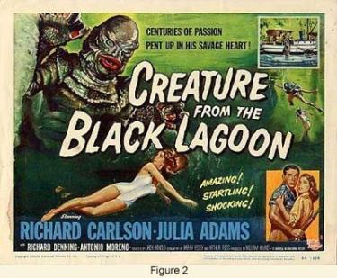 """Movie poster - """"Creature from the Black Lagoon"""""""