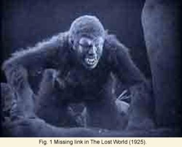 Missing Link in the Lost World monster