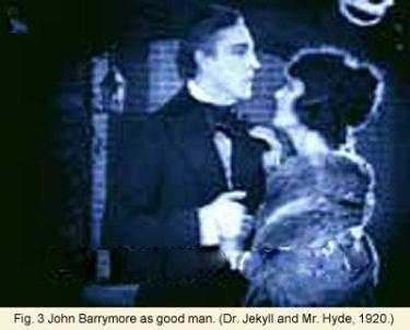 John Barrymore as good man